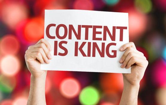 Seja único por meio do conteúdo