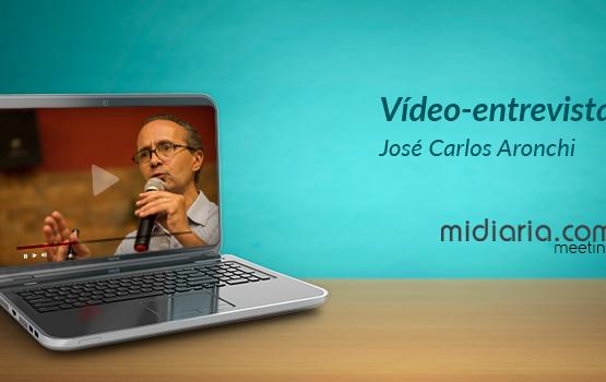 """VÍDEO: """"Em 10 anos, pouco mudou na TV brasileira"""", diz Aronchi ao midiaria.com meeting"""