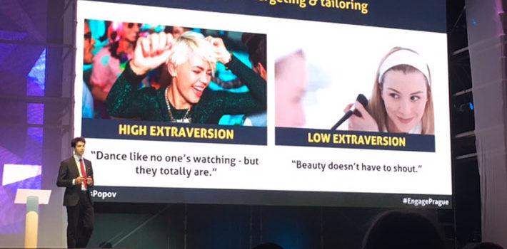 Engage Prague 2017: Trazendo a personalização com as psicométricas